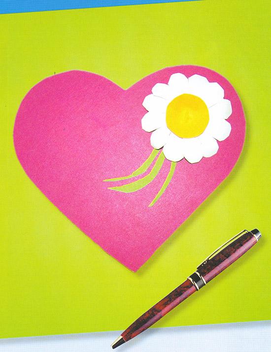 Сердце матери открытка своими руками для детей