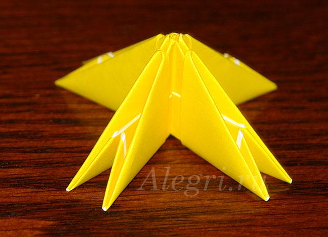 2(36) Цветок лотоса из бумаги в технике оригами (мастер-класс). Воспитателям детских садов, школьным учителям и педагогам