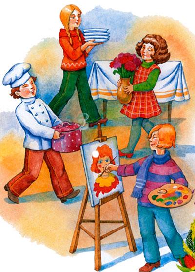 Детские стихи к 8 марта. Стихи для младших школьников