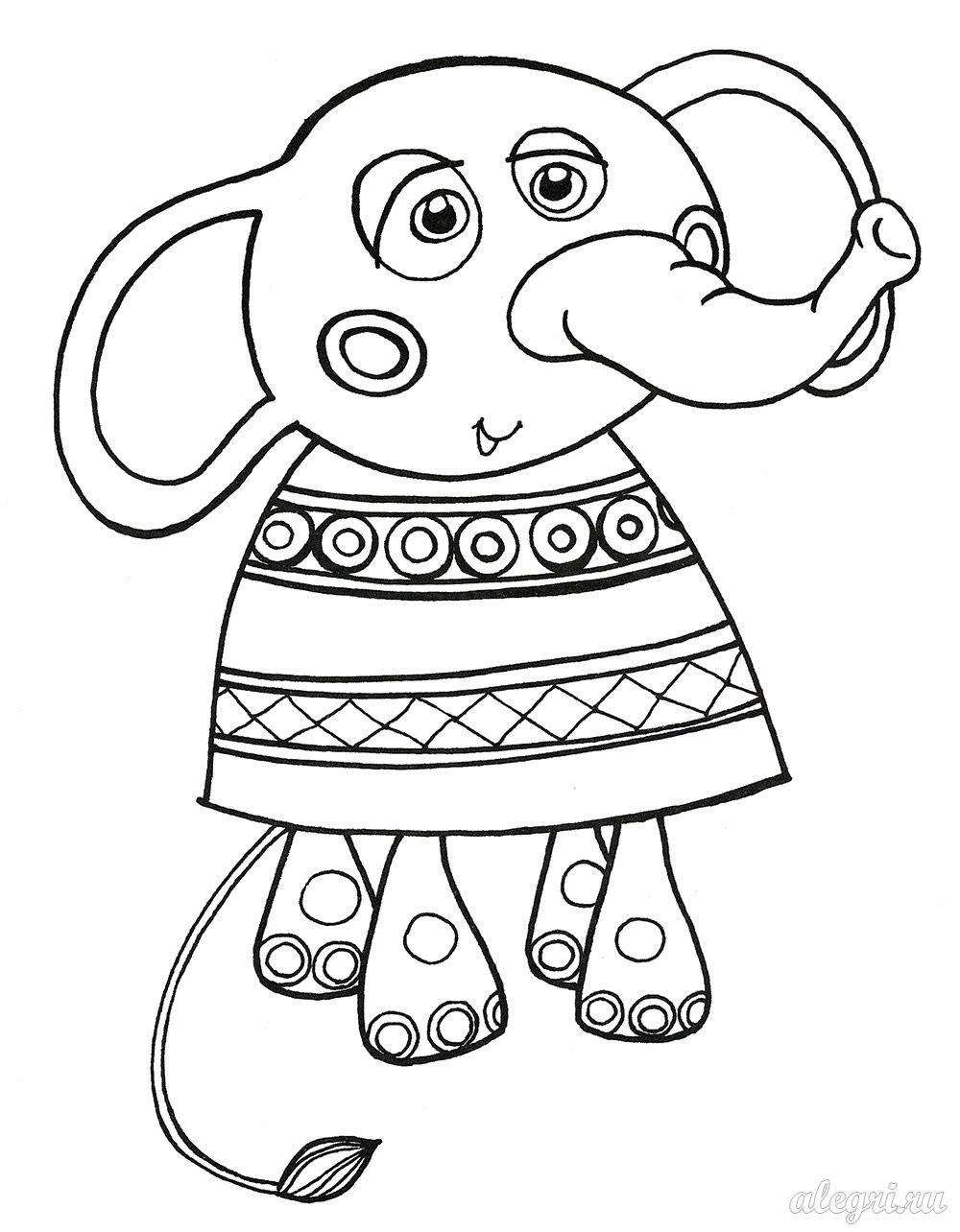 Раскраски «Игрушки» для детей 4-5 лет распечатать бесплатно