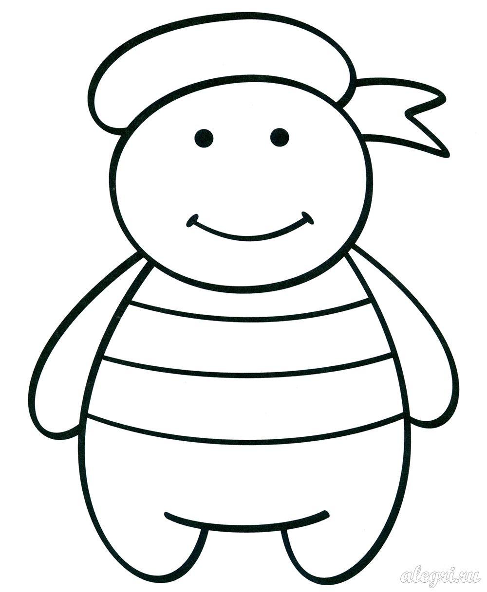 Раскраски к 23 февраля для дошкольников 2-5 лет ...