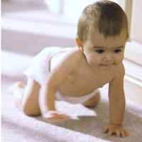 Двигательное развитие ребенка от рождения до года