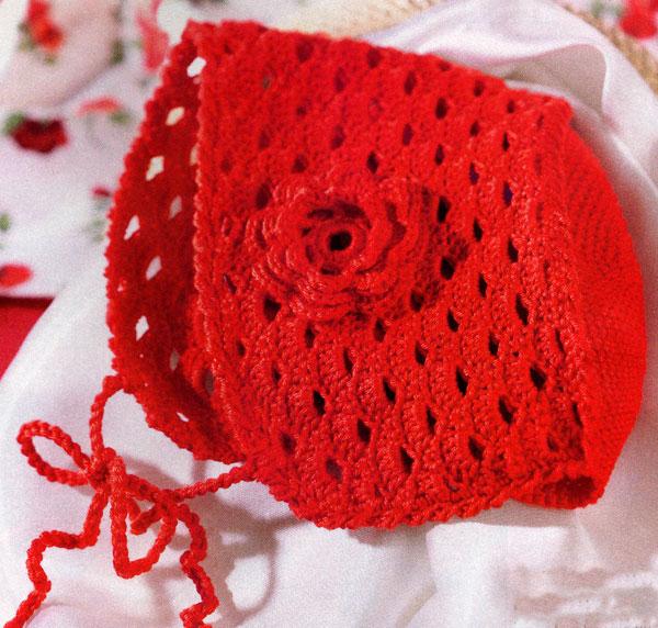 Как связать красную шапочку крючком