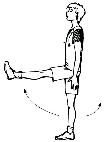 рисунок упражнения на автодроме